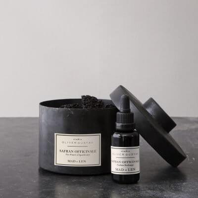 Safran Officinale potpourri scented lava stones mad et len