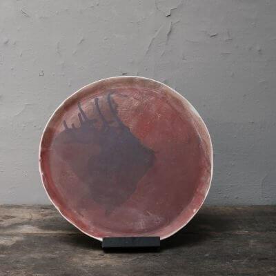 Unique ceramic plate