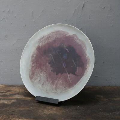 Unique italian stoneware - ceramics plate