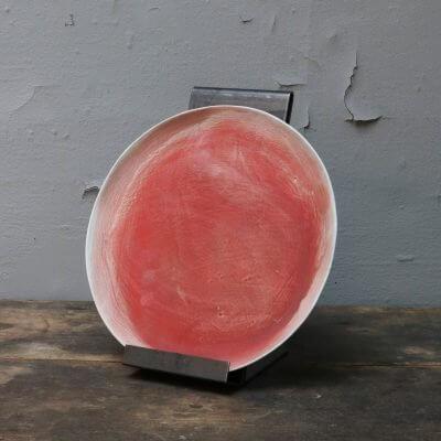 Unique ceramics plate stoneware