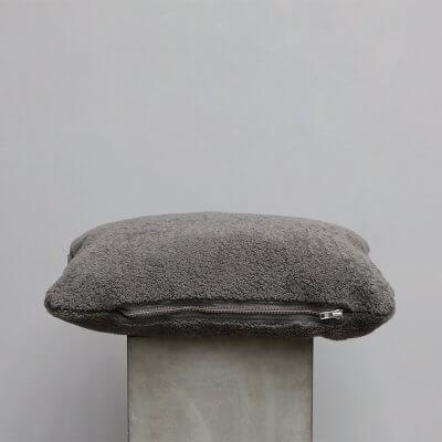 Limited edition high-quality grey lambskin Cushion - Small from JourneyLimited edition high-quality Brown Suede Cushion - Small from Journey by Oliver Gustav by Oliver Gustav