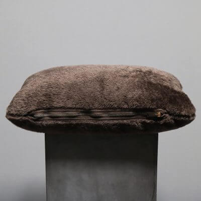 Pillows made in high quality lambs wool by studio Oliver gustav for sofa or chair
