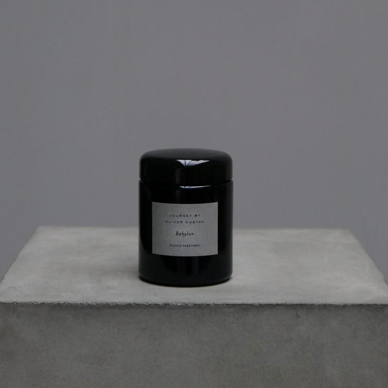 Scented Candle 'Babylon' Journey by Oliver Gustav