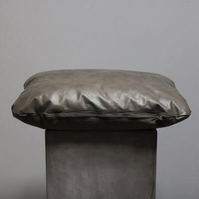 Pillows made in high quality leather by studio Oliver gustav for sofa or chair