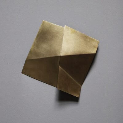 Unique sculpture in brass by the danish artist Josefine Winding