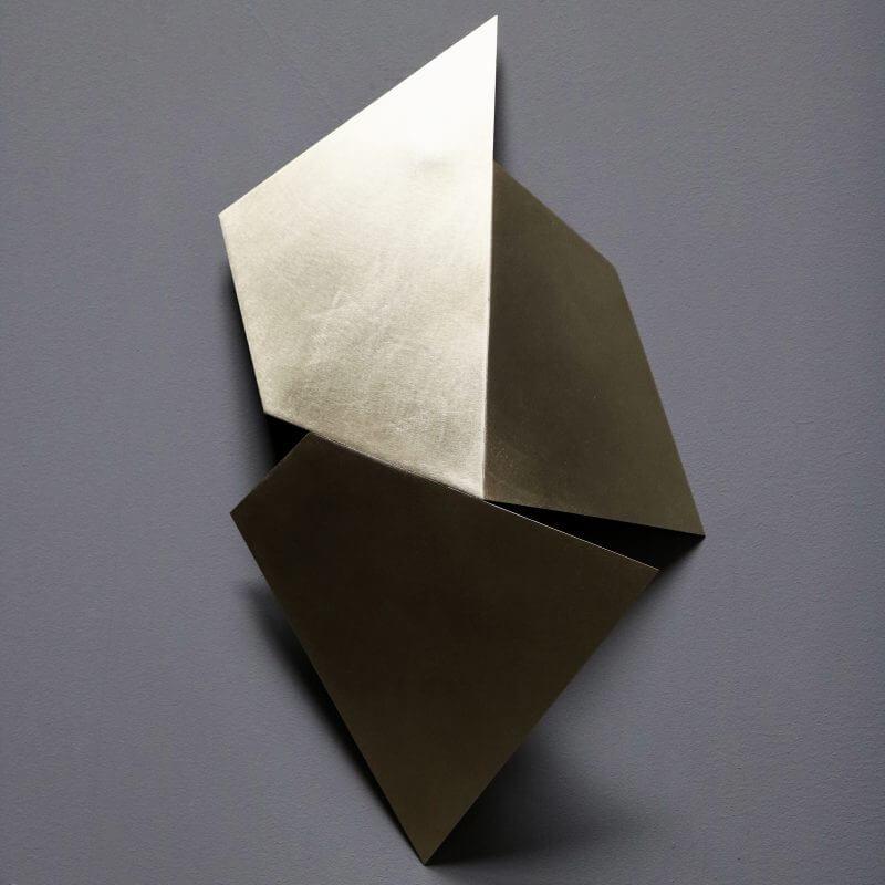 Unique sculpture in brass by danish artist Josefine Winding