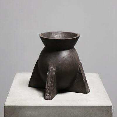 Evase vase in bronze by designer Rick Owens
