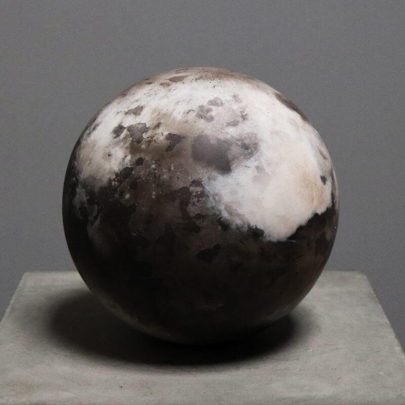 Unique stone sphere by danish designer Tage Andersen