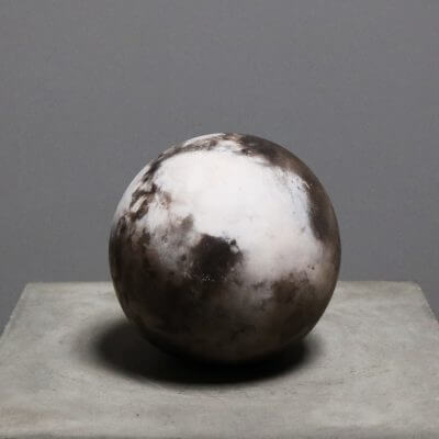 Unique stone sphere by danish designer Tage Andersen