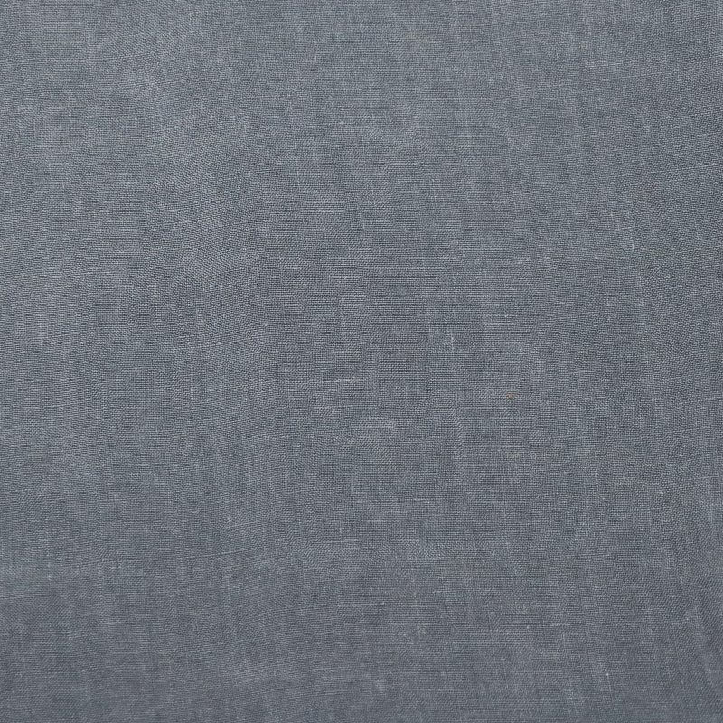 Bedsheet in linen from Society Limonta color steel blue