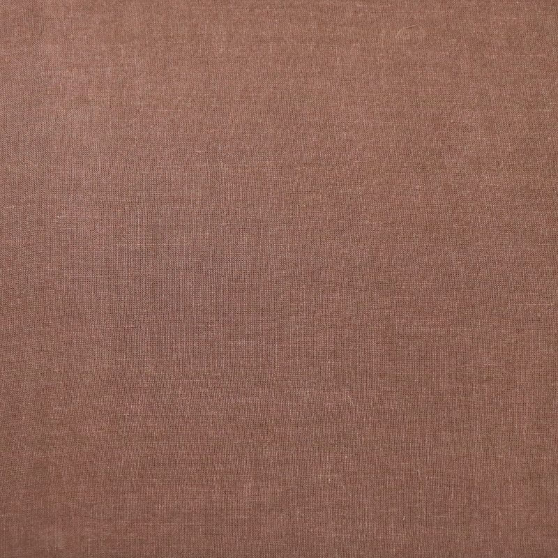 Bedsheet in linen from Society Limonta color Rugginerust rusty brown