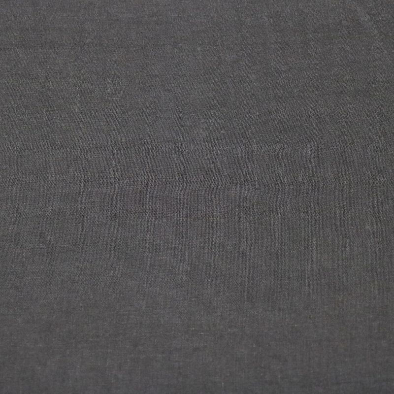 Bedsheet in linen from Society Limonta color Anthracite dark grey
