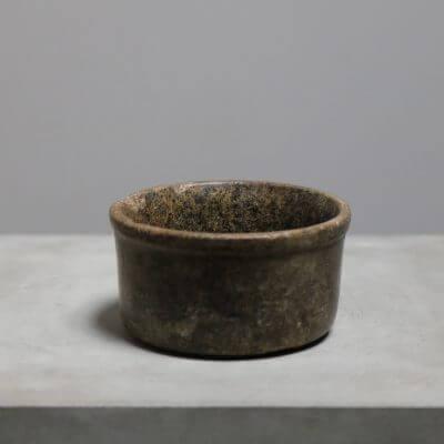 Minimalist unique stone bowl