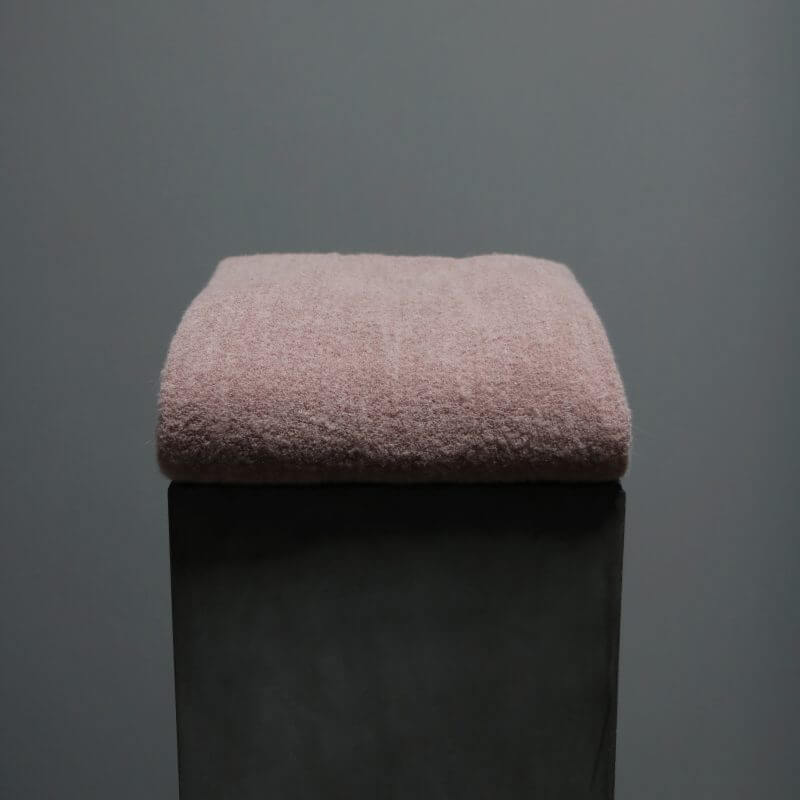 Bed cover Society Limonta Alpaca wool. Luxurious bedroom interior