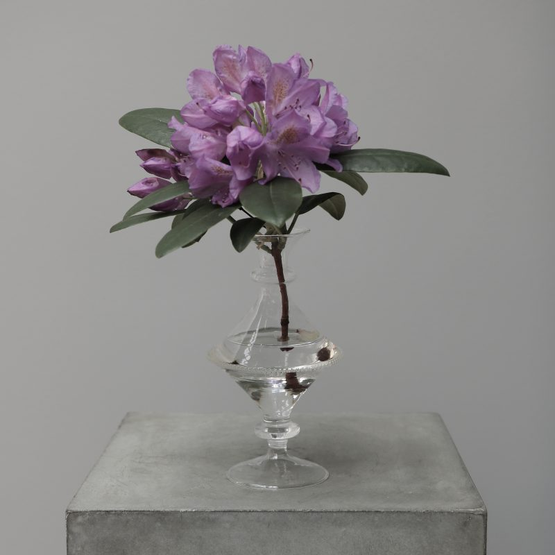 Mouth blown Glass Vase Studio Oliver Gustav