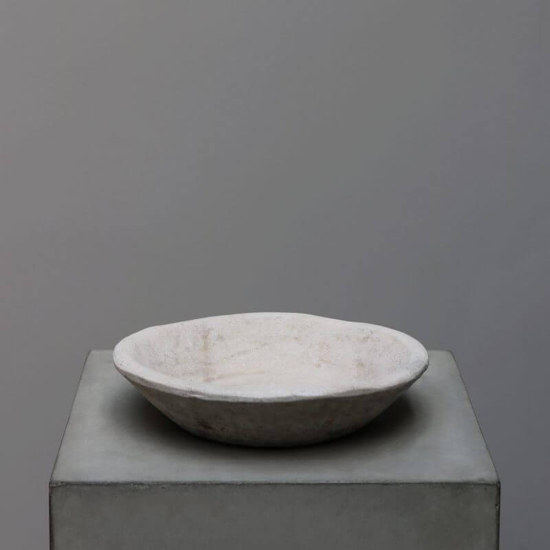 Carved stone bowl unique tableware Oliver Gustav