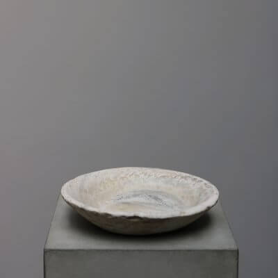 Unique stone bowl. Natural stone tary. Studio Oliver Gustav