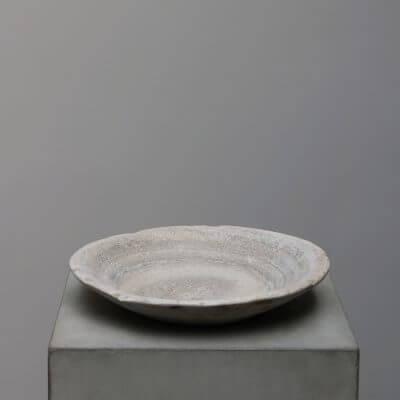 Unique stone bowl. Carved natural stone. Studio Oliver Gustav