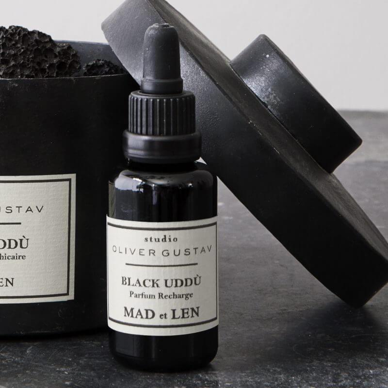 """""""Black Uddù"""" refill oil for potpourri from Mad et Len at Studio Oliver Gustav"""