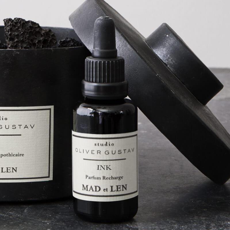 Ink mad et len potpourri refill scented oil at Studio Oliver Gustav