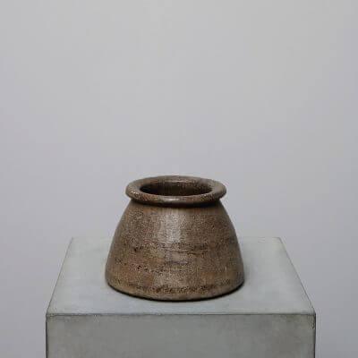 Soap Stone bowl jar vase Studio Oliver Gustav