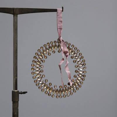 Jewel Wreath Christmas ornaments by studio Oliver gustav