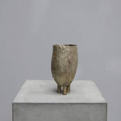 Object by Peter Bauhuis in Brass and Silver