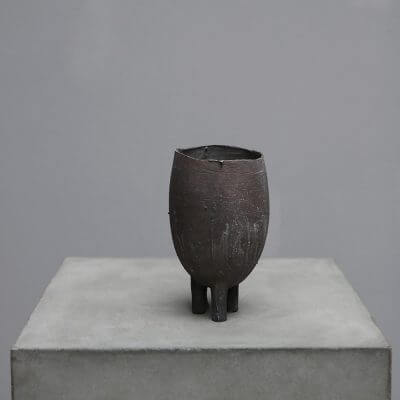 Vessel in silver by Peter Bauhuis