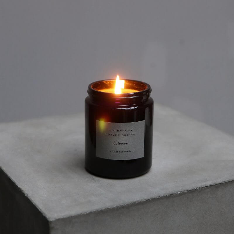 Journey by Oliver Gustav Scented candle Solomon