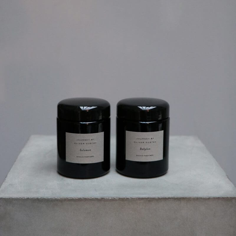 Journey by Oliver Gustav scented candles