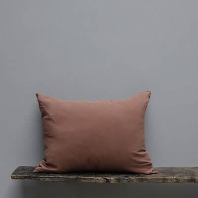 Society cushion large Ruggine:rust