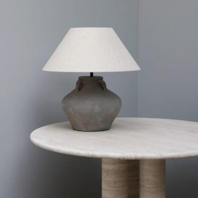 terracotta jug lamp