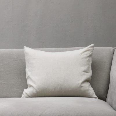 Heavy linen matcice cushio from society limonta