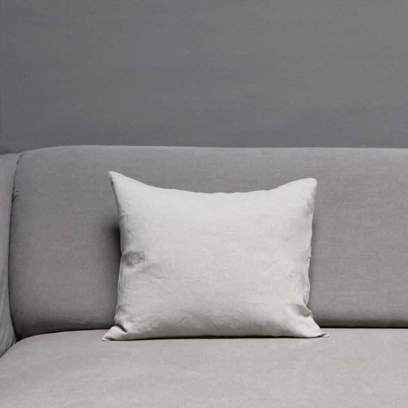 High quality linen pillow from Society Limonta