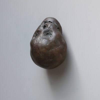 "Bronze head ""Ercolano"" by Kaare Golles"