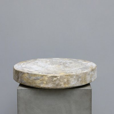 Large bowl in brass made by the belgian designer Michael Verheyden